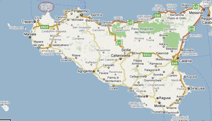 Sicilia Cartina San Vito Lo Capo.Galeria De Fotos Casa De Vacaciones Baglio Poma A Castelluzzo San Vito Lo Capo Trapani Sicilia